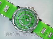 Часы наручные Chopard 0818 салатовые, фото 2