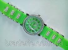 Часы наручные Chopard 0818 салатовые, фото 3
