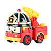 Машинка-трансформер пожарная машина Рой Robocar Poli/Робокар Поли: 10 см
