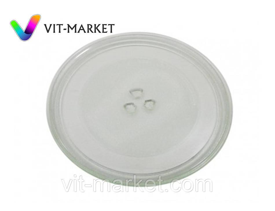 Стеклянная тарелка (поддон, блюдо) для микроволновки LG диаметр 285 мм код 3390W1G012B