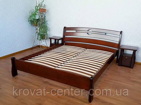 """Большая кровать """"Каприз"""" (200*200см.), массив - сосна, ольха, береза, дуб., фото 2"""