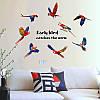 """Наклейка на стену интерьерная """"Попугаи"""" (117*85 см), фото 2"""