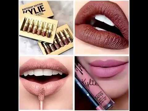Kylie jenner матовые помады от Кайли Дженнер (lipstick)