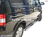 Защитные дуги боковые для VW Transporter T5, кор (L1) / длин (L2) базы