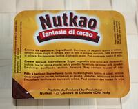 Крем з какао Nutkao, 864г (48*18г)