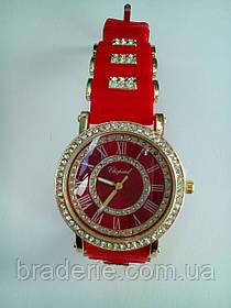 Часы наручные Chopard 0819 красные