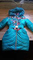 Модная зимняя куртка для девочки