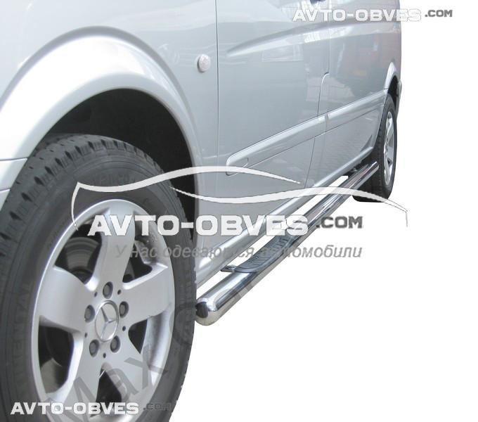 Защитные дуги боковые для Mercedes Vito / Viano, кор (L1) / сред (L2) / длин (L3) базы