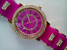 Часы наручные Chopard 0820 малиновые, фото 2