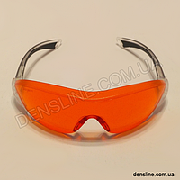 Защитные очки стоматологические PC Red-Orange AS/AF (3M)