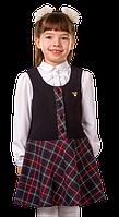 Сарафан Тіна, вишневий