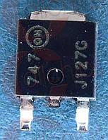 Транзистор Дарлингтона PNP 100В 8А ON MJD127T4G TO252