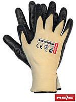 Защитные перчатки с покрытием из нити стрейч-кевлар RKEVSTRENI YB - 10