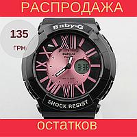 Детские спортивные часы Casio Baby-G BGA-160 Black - Rose, фото 1