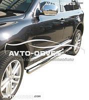 Защитные дуги боковые для VolksWagen Touareg