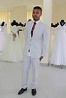 Мужской костюм белый