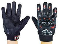 Мотоперчатки летние текстильные FOX Biker