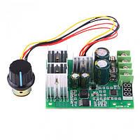 Контроллер скорости вращения двигателя постоянного тока регулятор 0-60В, 0-30А