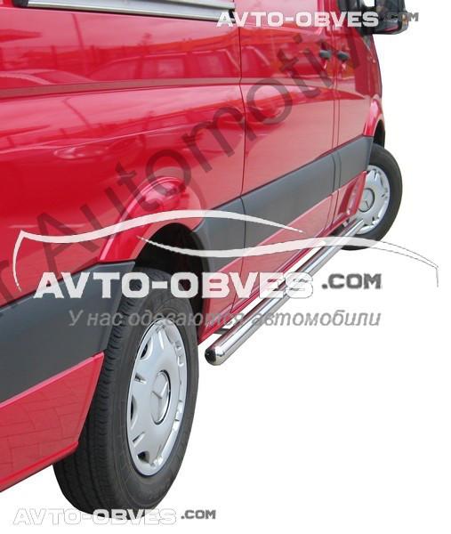Труби бічні Volkswagen Crafter 2011-2016, кор (L1) / серед (L2) / довга (L3) бази, Ø 42   51   60   70 мм