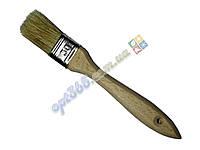 Кисть плоская 30 мм (флейцевая), утолщенная