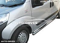 Защитные дуги боковые для Peugeot Bipper