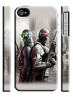 Чехол для iPhone 4/4s  Counter Strike Soldiers Wallpapers