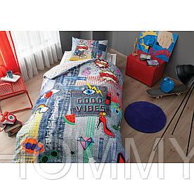 Постельный комплект ODVIBES V01 Синий
