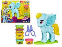 Набор для лепки My Little Pony 8001 (пластилин для лепки): 6 цветов, аксессуары в комплекте