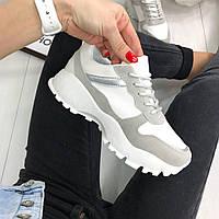 Стильные женские комби кроссовки