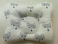 Ортопедическая подушка для новорожденных - от кривошеи