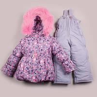 Зимний детский комбинезон для девочки от производителя