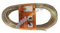 Бельевая веревка (трос) усиленная, 15 м. 90 кг