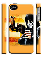 Чехол для iPhone 4/4s  Counter Strike Soldiers.