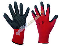 Перчатки рабочие, стрейч, ПВХ покрытие (нитрил), 1 сорт К-Ч