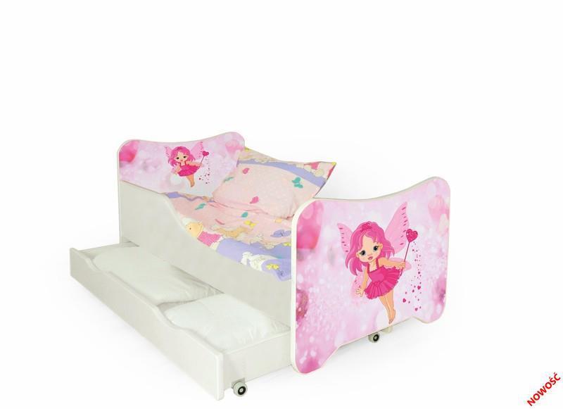 Детская кровать HAPPY с ящиками и матрасом (Halmar)