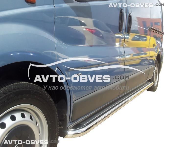 Подножки для Renault Trafic, кор (L1) / длин (L2) базы, Ø 42 \ 51 \ 60 мм