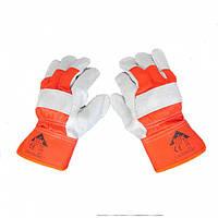 Перчатки комбинированные спилком МІК EC 008 S10