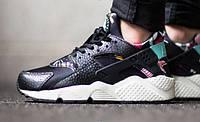 Кроссовки Nike Air Huarache Black Floral р.36-40