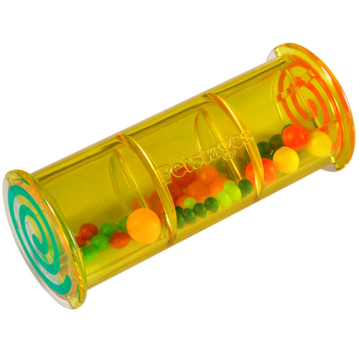 Petstages Shake Rattle and Roll - Разноцветная погремушка - игрушка для кошек и котят