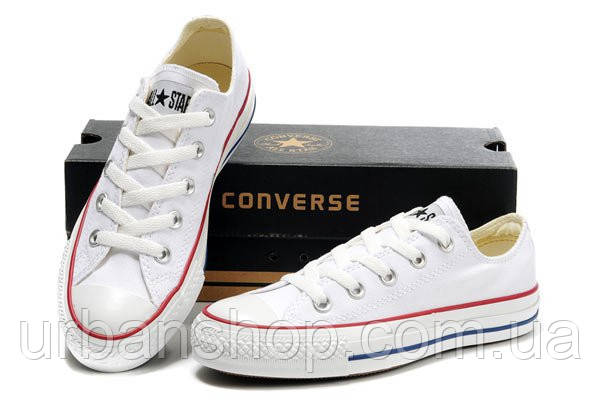 Converse All Star белые низкие 35-40рр - UrbanShop в Львове 90c00a445c728
