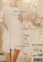 Набор для кормления сорочка с халатом изумительного качества