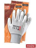 Защитные перчатки из нейлона с полиуретановым покрытием RNYPO WW - 9