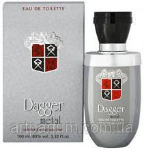Туалетная вода для мужчин Dina Cosmetics Dagger Metal 100ml