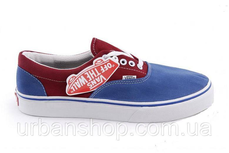 Кеди Vans New Era 36-45 Blue Red. 36 — в Категории