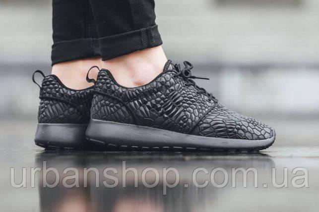 Кроссовки Nike Roshe One DMB - Triple Black р.36-44