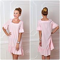 Платье, модель 789, розовая пудра