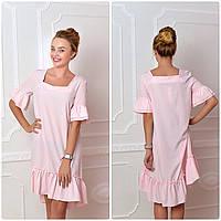 Платье, модель 789, розовая пудра, фото 1