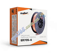 Сварочная проволока ER70S-6, d-0,8 мм,  5 (4) кг