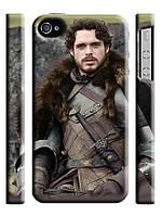 """Чехол """"Игра престолов"""" Робб Старк по прозвищу Молодой Волк для iPhone 4/4s"""
