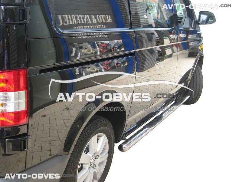 Защитные дуги боковые VW Transporter T5, кор (L1) / длин (L2) базы